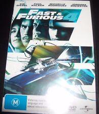 Fast & Furious 4 (Vin Diesel/Paul Walker) (Australia Region 4) DVD – New