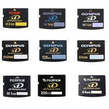 Olympus Fujifilm Kodak 2GB 1GB 512MB 256MB 128MB 64MB 16MB XD-Picture Card