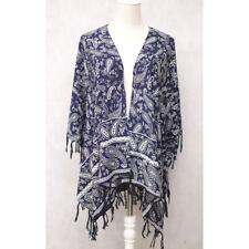 Women Summer Viscose Batwing Kaftan Caftan Open Top Loose Boho Dress Free Size