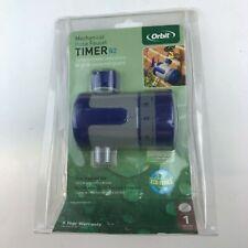 Orbit Mechanical Garden Water Timer for Hose Faucet Watering - 62034