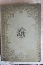 Florentine vellum & gilt visitor's book, Villa Mercede Bellosguardo, 19th Cent.