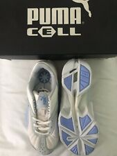 Puma Cell Women's Trainers White & Blue - UK 4
