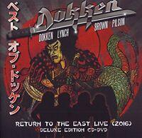 RETURN TO THE EAST LIVE 2016 - DOKKEN [CD]