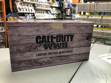 Call Of Duty WWII Limited Edition Gear Crate Box SENZA GIOCO NUOVO leggere bene!