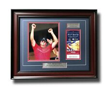 Phil Mickelson Framed Authentic 2008 Ryder Cup Ticket Collage Coa Golf Pga Tiger