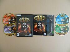 Star Wars Knights of the Old Republic II 2 los Señores Sith PC CD ROM Juego Ciencia Ficción