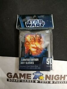 Star Wars Limited Edition Standard 50ct Sleeves 63.5x88mm *NEW* **Fast Ship**