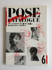 How to Draw Anime Manga POSE Catalogue 6 Art Reference Book Collection Japan