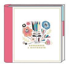 The Art File Address & Birthday Book - Summer Breeze