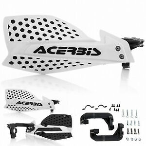 ACERBIS X ULTIMATE HANDGUARDS WHITE BLACK MOTOCROSS MX ENDURO CHEAP OFF ROAD