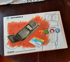 ≣ old MOTOROLA 7500 mobile vintage rare phone WORKING