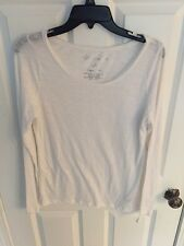 Aeropostale Original Brand Long Sleeve White Shirt Size Large