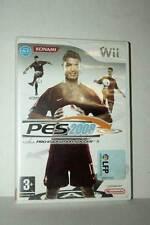 PRO EVOLUTION SOCCER 2008 USATO NINTENDO Wii EDIZIONE SPAGNOLA PAL ML3 45331