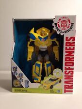 RARE Transformers Blue Bumblebee Robots In Disguise 3 Step Changer Energon Boost
