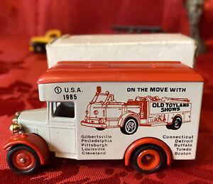 Lledo Diecast Promotional Souvenir Model A Ford- 1985 USA Old Toyland Shows Ltd