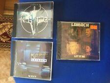 LAIBACH : 3 x CD : NATO + Let it be + Kapital