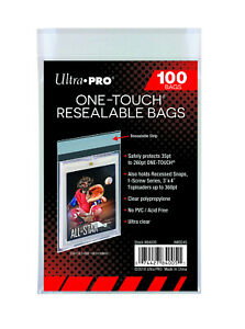 Ultra Pro One Touch Magnetic Bags Pack of 100 Resealable