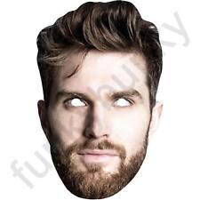 Joel dommett ATTORE COMICO Celebrità Maschera Carta-tutte le nostre Maschere sono pre-tagliati!