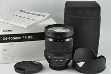Sigma 24-105mm f4 DG OS HSM ART lens for Nikon full-frame  boxed