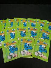 Smurf Stickers Merlin Collection 1995 Brand New Sealed X16 Packs