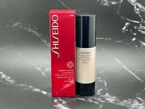 Shiseido Radiant Lifting Foundation Firming SPF17 - I00 Very Light Ivory 30 ml