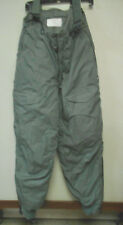 US Air Force Extreme Cold Weather Military Flight Pants Insulated Trousers W-32.