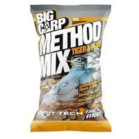 Bait Tech NEW Big Carp Method Mix Tiger & Peanut Fishing Groundbait 2kg