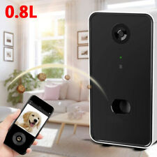 Smart Home Full HD Wifi Pet Camera And 2-Way Audio Automatic Pet Feeder For Dog