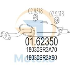 MTS 01.62350 Exhaust HONDA Civic 1.6 VTi 160bhp 01/92 - 12/95
