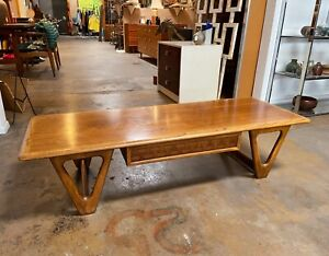 Vintage MCM Lane Perception Coffee Table Designed By Warren Church