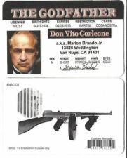 The Godfather Don Vito Corleone Marlon Brando Drivers License ID collectors card