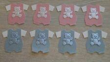 8 Quickutz teddy bambino cresce/tutine-Rosa e Blu Luccicante già assemblato