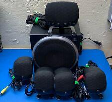 Logitech Z-640 5.1 Computer Speakers Surround Sound System w/ Subwoofer (3.5mm)
