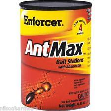 3 Pack Enforcer .48 Oz Ant Max Ant Killer Bait 4 Bait Stations/Pk Eambs4
