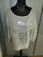 Shirt beige Schmetterling Tredy 40 L