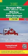 FuB Norwegen 02 Mitte 1 : 250 000. Auto- und Freizeitkarte (2017, Mappe)