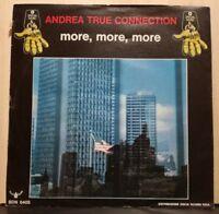 ANDREA TRUE CONNECTION - MORE,MORE,MORE - 45 giri nuovo 1976 DISCHI RICORDI