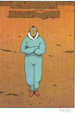 MOEBIUS ART COLOR LITHOGRAPH JEAN GIRAUD HAND SIGNED COA PAGE 26