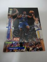 34 Isaiah Rider  upper deck 9.5 mint basketball card no #181, wolves 1995 DI