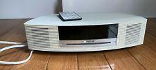 Bose AWRCC2 Wave Music System Am/Fm Radio Alarm Clock CD Player w/Remote MINT
