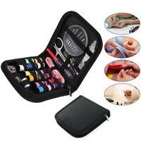 58 Piece Travel Home Craft Stitch Sewing Kit Needle Thread Scissor Storage Bag