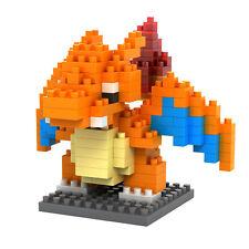 CHARIZARD Pokemon LNO BLOCK Micro Mini Building Kids Toy Nano Block Iblock Gift