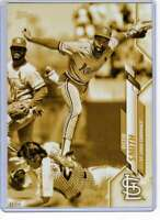 Ozzie Smith 2020 Topps Short Print Variations 5x7 Gold #55 /10 Cardinals