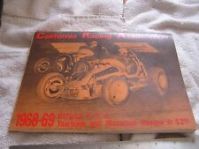 1968-69 California Racing Association Yearbook