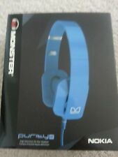 Nokia Purity by Monster Premium On-Ear Headset - Cyan (WH-930)