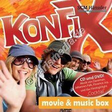 CD & DVD: konfix Movie & Music Box-Musique pour konfirmanten & les jeunes