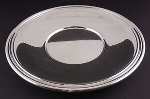 GORHAM STERLING SILVER TRAY, — SIGNED & HALLMARKED No 543, TIMELESS CLASSIC