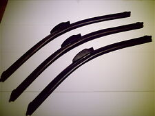 "Hymer 508CL Motorhome Triple Flat Style Wiper Blades 21x21x21"""