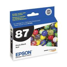 Genuine Epson R1900 photo black printer ink cartridge 87 1900 T087 T0871 T087120