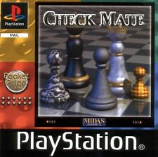 Check Mate ps1 Sony Playstation 1 (2000) Black Label Schach Retro